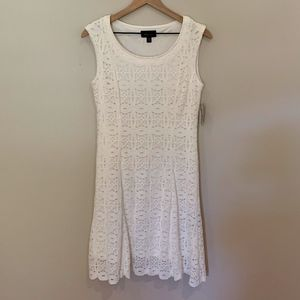 NWT Ronni Nicole Ivory Lace Dress